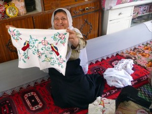 Druze, embroidery, Idlib Province, Syria, Middle East