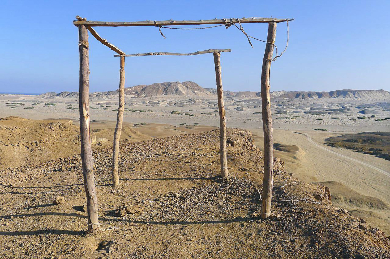 Wadi al Gamal as Twilight Falls…
