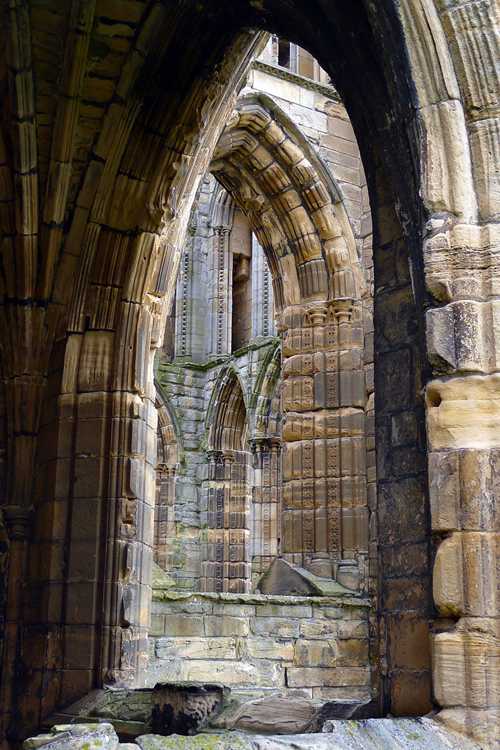 Ruins, Elgin Cathedral, Scotland