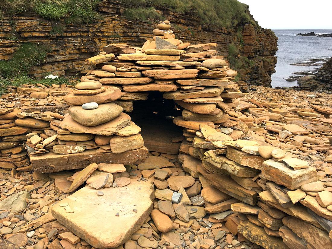 Cairn, Birsay, Fairy Folk, Mainland, Orkney, Scotland