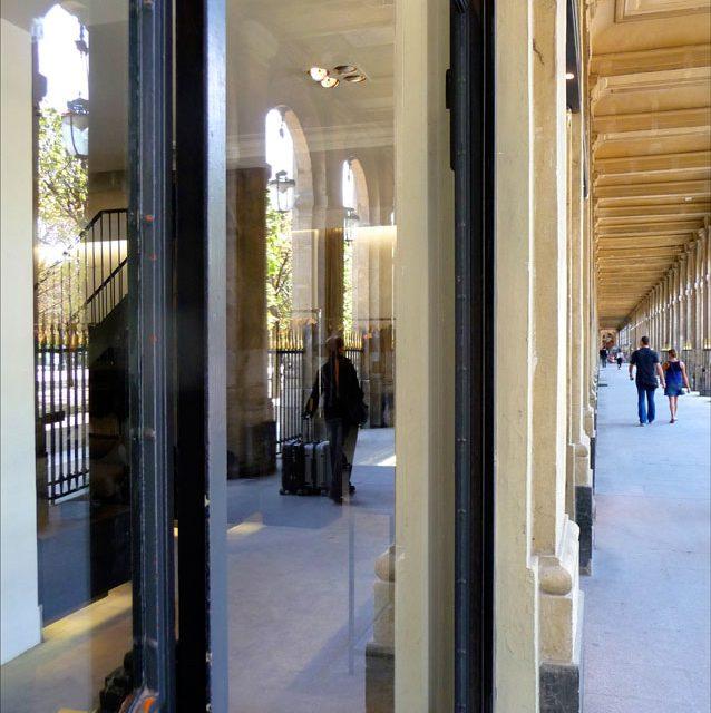 Reflections at the Palais-Royal, Paris