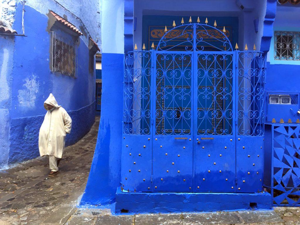 Blue World, Chefchaouen, Morocco
