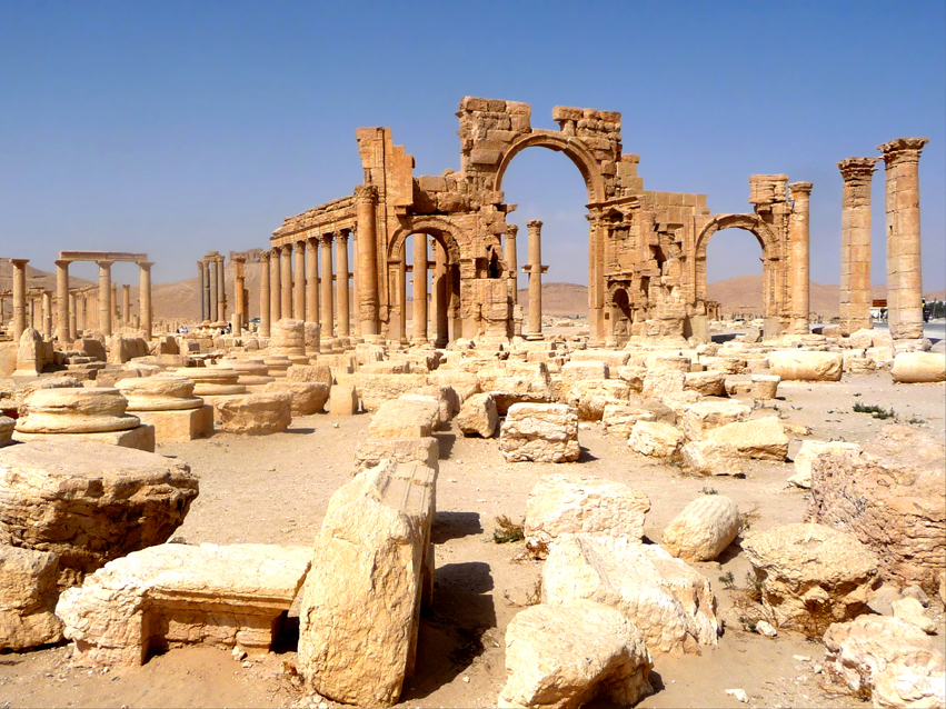 An ISIS minefield now surrounds these ancient ruins in Palmyra. A preparation for their destruction or a way of deterring government troops?