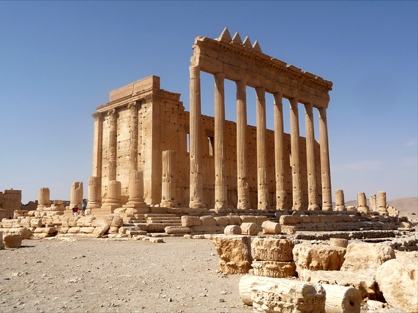 Much of the legendary Temple of Baal has been demolished in Palmyra, Syria, so destroying forever a part of the history of what makes us who we are.