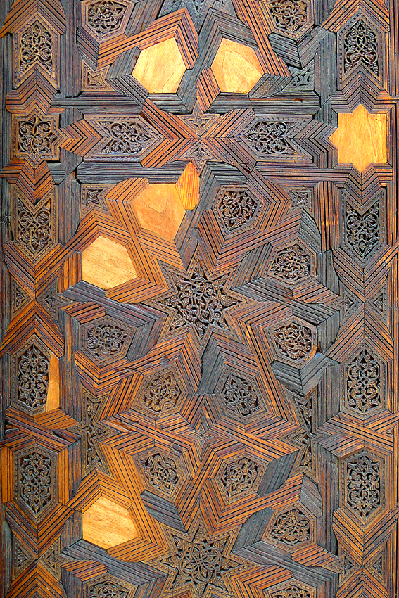 Divine geometry... with some missing bits. A door at a Fez madrassa, a religious college. © www.anniewrightphotography.com