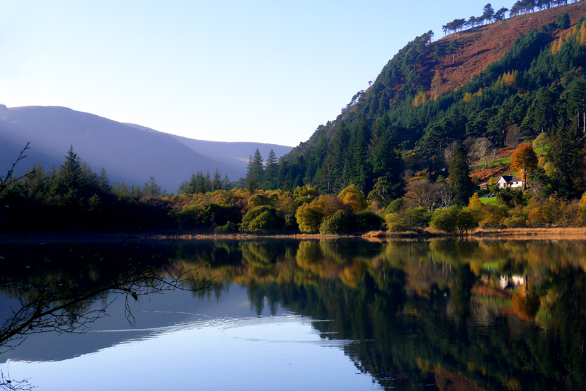 If I could, Glendalough is where I would be. Away from the internet and its terrifying news... ©www.anniewrightphotography.com