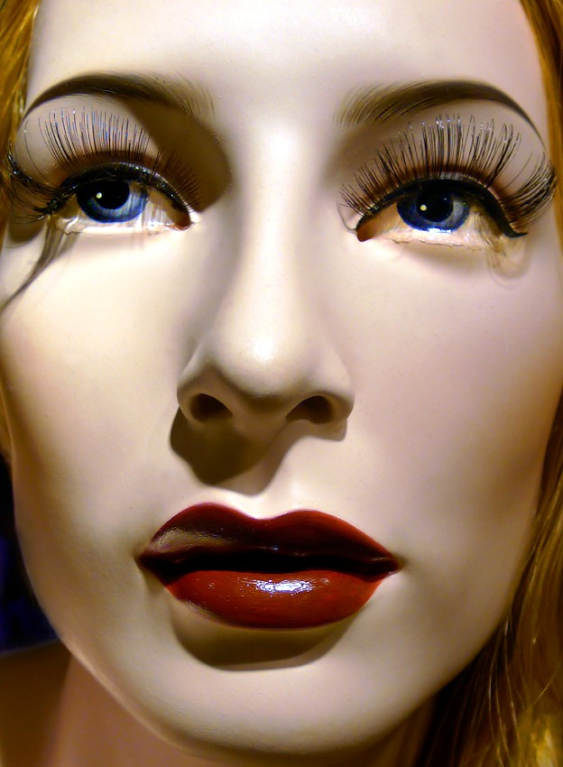 Our Lady of Sorrows, mannequin doll, pulp fiction, agent provocateur