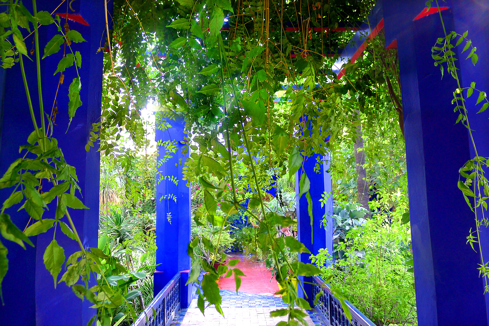 Yves Saint Laurent, Jardin Majorelle, Marrakesh, Morocco