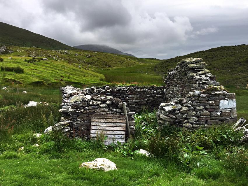 The Great Hunger, potato blight, mass starvation, famine, ruins, Ireland, 1845-1852