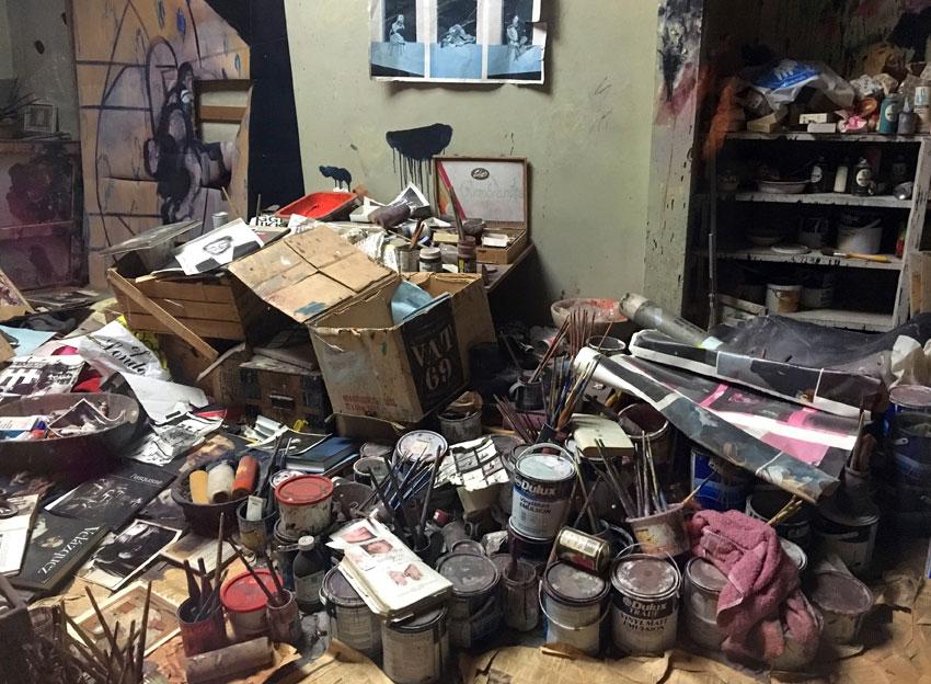 Francis Bacon's Studio, Hugh Lane Gallery