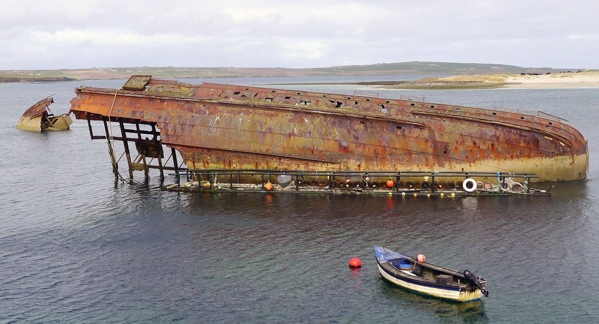 © www.anniewrightphotography.com - Scapa Flow Shipwreak