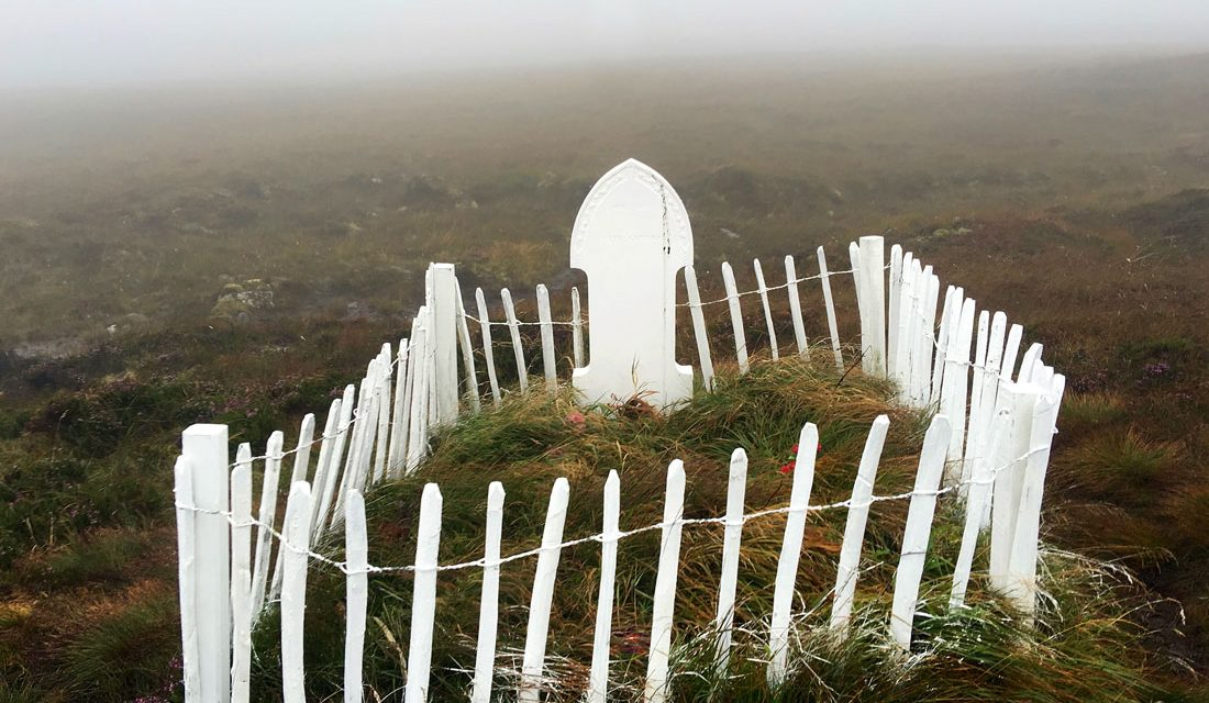 © www.anniewrightphotography.com. Betty Corrigall's Grave, Hoy, Orkney, Scotland