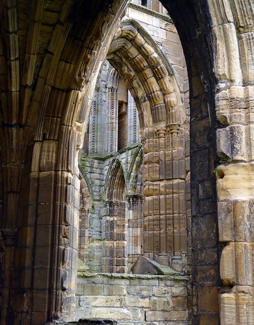 Elgin Cathedral, Scotland, ruins