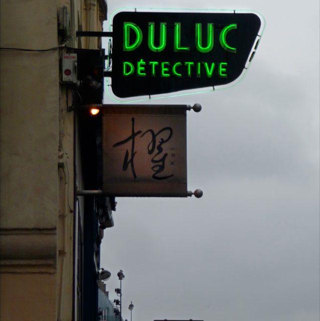 Dulac, detective agency, Louvre, Paris