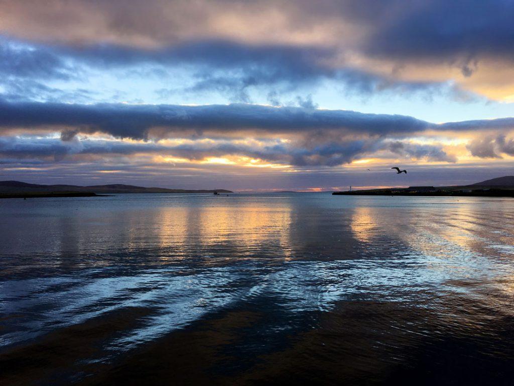 Natural wonder, photographic cliché, sunrise