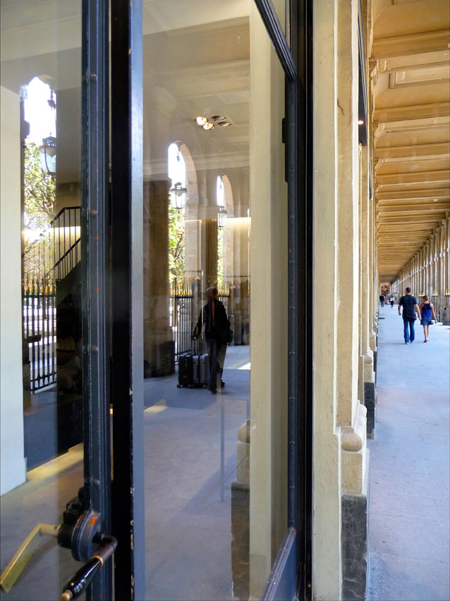 Reflections, Palais Royal, Paris