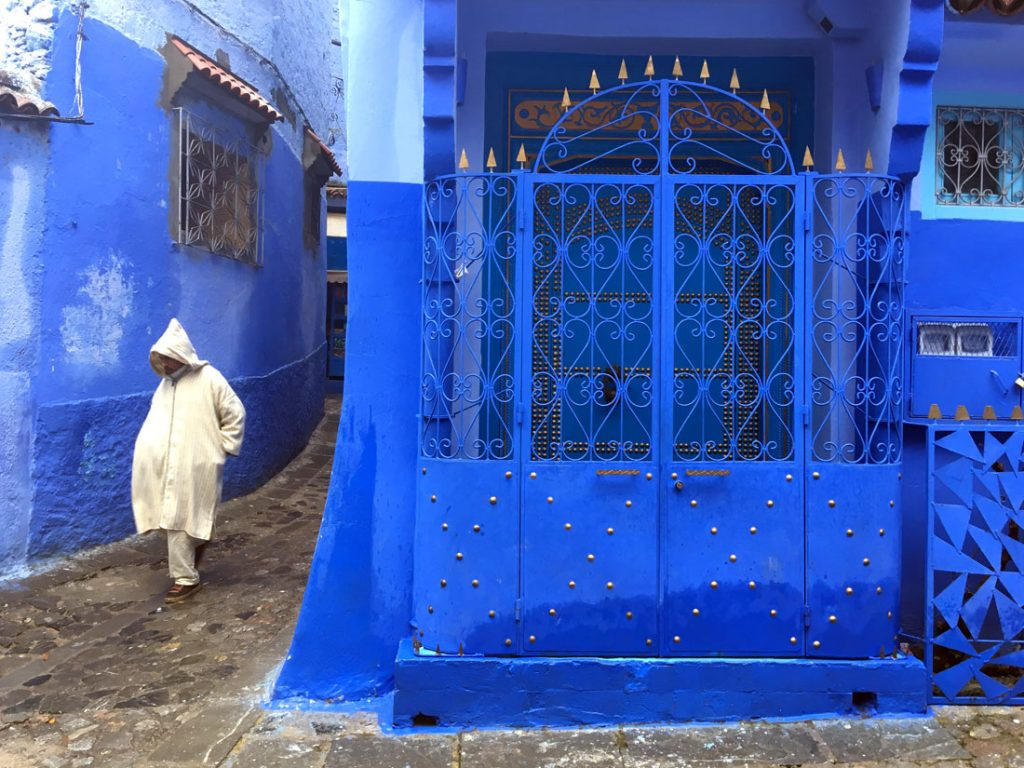 Blue World, Chefchaouen, Morocco