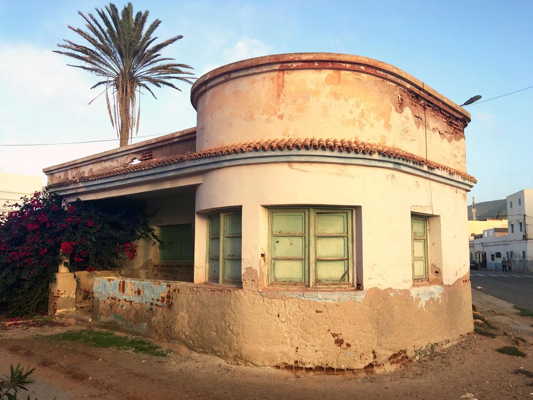 Art Deco, monument, Sidi Ifni, Morocco