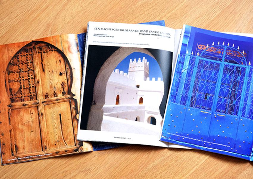Sahara Schrift, Morocco, history, photography
