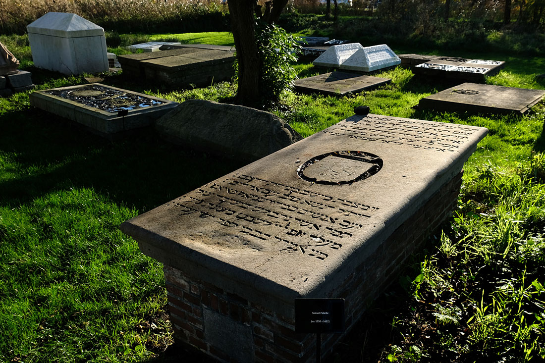Samuel Palache, grave, Jewish Cemetery, Ouderkerk aan Amstel, the Netherlands